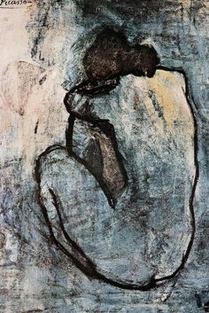 Pablo Picasso Blue Nude - does this offend you?? If it were a photograph you would report me.