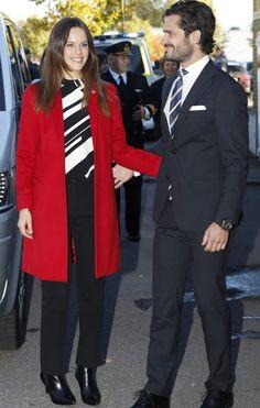 Princess Sofia, Duchess of Värmland and Prince Carl Philip, Duke of Värmland Visit Dalarna