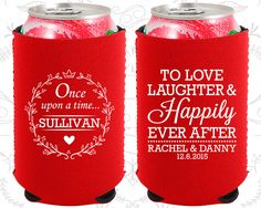 Love Laughter Happily, Neoprene Wedding, Once upon a time Wedding, Romantic Wedding, Neoprene Wedding Favors (442)