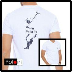 T-Shirt Polo silkada toque zero. #poloin_br #poloinbr #poloin