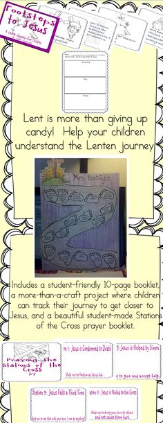 Feedback left for this item include:  In a great child friendly format. I am really looking forward to incorporating this into my curriculum for Lent this year! $ #Lent #Easter #Religiousresource