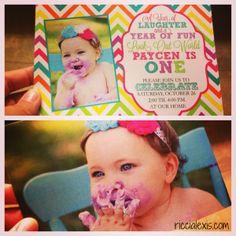 Sweet Shop First Birthday Party Invitation #birthday #firstbirthday #sweetshop
