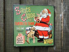 クリスマスのU.S.ヘヴィースチールサイン販売 アメリカ雑貨のテーマパーク!キャンディタワー