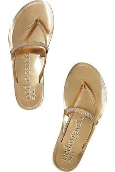 Pedro Garcia  Zuriel crystal-embellished sandals