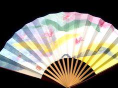 Hand Fan Vintage Japanese Sensu Ogi F149 Small by VintageFromJapan, $9.50