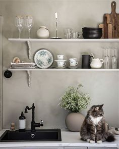 my scandinavian home: A Charming Swedish Home Furnished with A Mix of Old and New
