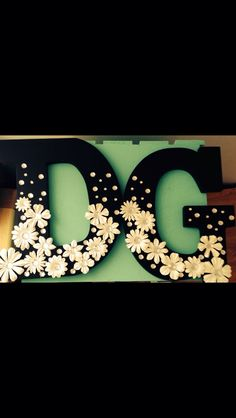 My beautiful littles DG wooden letters