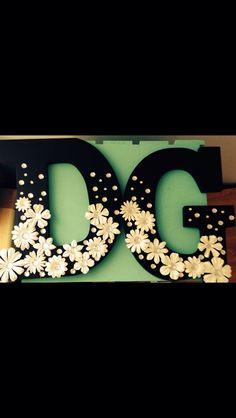 My beautiful littles DG wooden letters