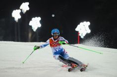 DAY 15:  Kathrin Zettel of Austria competes during the Alpine Skiing Women's Slalom http://sports.yahoo.com/olympics
