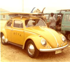 1968 Volks Wagon beetle. Exact same, except mine is a standard, and doesn't have the chrome strips.  #vw with single fins #volkswagon