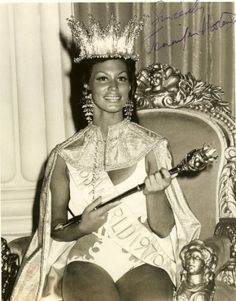 Miss Grenada, Jennifer Hosten, who eventually became Miss World and the first black winner of the contest in 1970