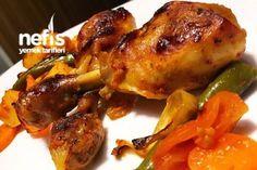 Nar gibi Kızaran Tavuk Baget (Fırında) Tarifi – Tavuk tarifleri – Las recetas más prácticas y fáciles Roasted Chicken, Tandoori Chicken, Baguette, Turkish Recipes, Ethnic Recipes, Homemade Beauty Products, Iftar, Pomegranate, Chicken Wings