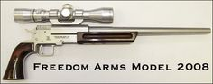 Freedom Arms 2008 Pistol