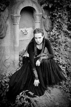 gothic girl, via Flickr.