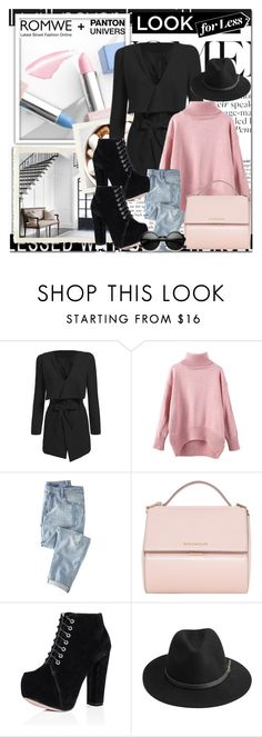 """""""Romwe 3"""" by emina-turic ❤ liked on Polyvore featuring Sephora Collection, Wrap, Givenchy and BeckSöndergaard"""