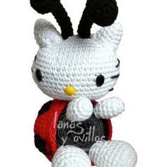 Patrón Hello Kitty mariquita