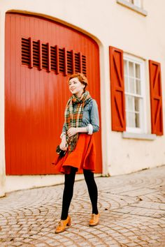 Outfit: Color Coded, such a pretty look for fall