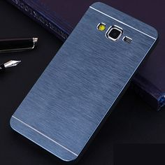 Aluminum Metal Brushed Case For Samsung Galaxy Grand Prime Case PC Back Cover for Samsung Galaxy Core Prime / Alpha G850 Case