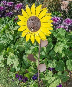 Look what I found on #zulily! Sunflower Bird Feeder #zulilyfinds