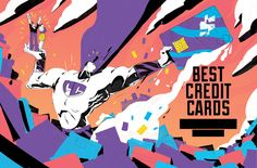 Money Magazine - The Best Credit Cards Now on Behance