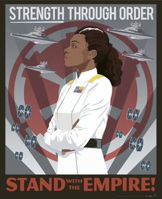 Imperial Rae Sloane from Chuck Wendig's Aftermath trilogy, Empire's End