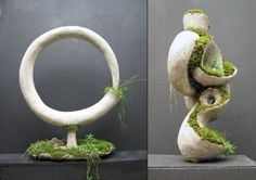 Concrete Sculpture | ... Amazing Moss and Concrete Sculptures From Robert Cannon
