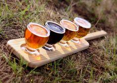 DOECH Beer Sampler, Bath Caddy