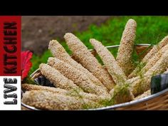 Παραδοσιακά κριτσίνια | bread sticks |Live Kitchen | - YouTube