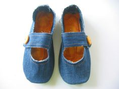 Repurposed House Slippers- not sure if practical but pretty cute looking