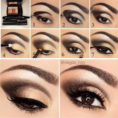 step+by+step+makeup | Eyeshadow step by step