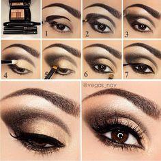 step+by+step+makeup | Eyeshadow step by step