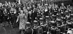 Adolf Hitler under en parad i Berlin 1938. Efter kriget kunde nazistiska krigsförbrytare leva ostört i USA – och Sverige. New York Times, New Jersey, Berlin, Concert, Usa, Culture, Recital, Concerts, America