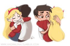 A Starco moment. Dark Star was born of negative feelings, only positive feelings can bring the Star that we all know . Starco, Jackie Lynn Thomas, Star Y Marco, Spirit Fanfics, Bad Boy, Disney And More, Star Butterfly, Star Vs The Forces Of Evil, Force Of Evil