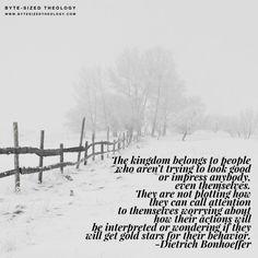 christian quotes   Dietrich Bonhoeffer quotes   Kingdom of God