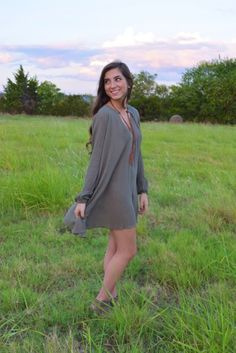 Primrose Tunic- Olive from Shop Southern Roots TX