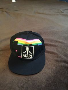 info for 099fd 2d528 Vintage Retro Atari Hat  fashion  clothing  shoes  accessories   mensaccessories  hats (ebay link)