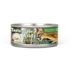 Taste of the Wild Canyon River Can Cat 5.5 oz Case 24 Completely natural. Appropriate for all ages and breeds. For Pet Type(s): Cats.