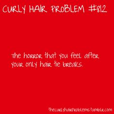 curly hair problem