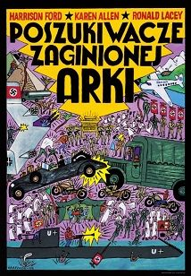 Raiders of the Lost Ark, Polish Poster