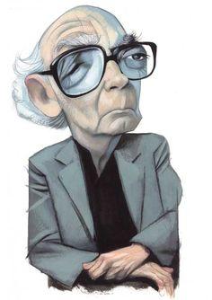 José Saramago by Fernando Vicente