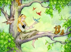 Afternoon With Briar Rose by *ShannonValentine on deviantART