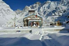 Recent Pic Of Kedarnath Dham