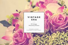 49 Vintage Photoshop Actions by GOICHA on @creativemarket