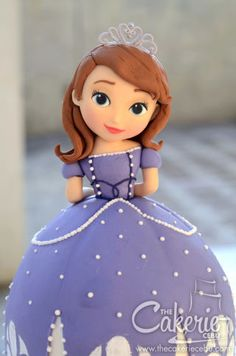 Sofia The First Cake By Cakerie Cebu Cakesdecor