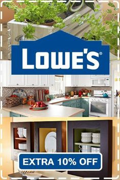 New Lowes coupon. Use promo code for 10% off at Lowes.com: https://www.dealsplus.com/lowes-coupons?code=3341633