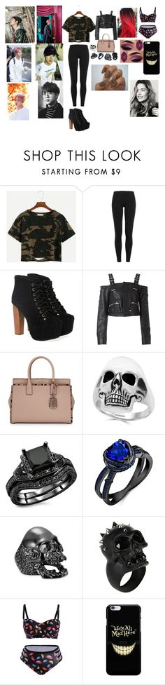 """""""Kim Seokjin"""" by btsloveforlife ❤ liked on Polyvore featuring Polo Ralph Lauren, Jeffrey Campbell, Diesel Black Gold, Kate Spade, Effy Jewelry and Alexander McQueen"""