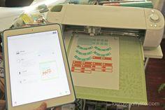 Print then cut from iPad app - Cricut Design Space