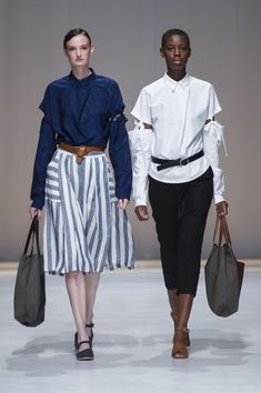 Amanda Laird Cherry   Spring Summer 2018    Looks 12 & 13   Photo by Eunice Driver for South African Fashion Week South African Fashion, African Fashion Designers, Spring Summer 2018, Amanda, Cherry, Prunus