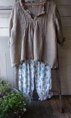 Grain Sack Linen Shirt MegbyDesign