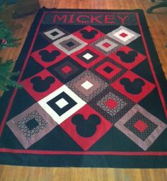 Mickey Mouse Quilt idea